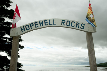 Hopewell Rocks - New Brunswick - Canada