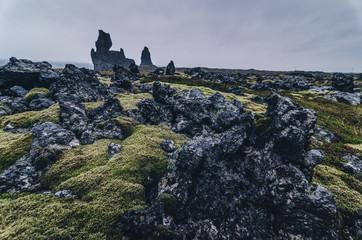 amazing rock formation, Londrangar, Snaefellsness peninsula, Iceland