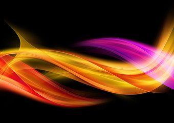 Design Background Abstract Colorful Waves