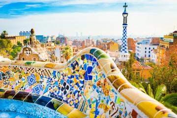 Park Guell, Barcelona.
