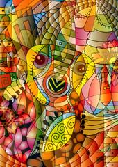 Cubism fotobeer style.