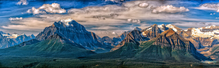 Canada Rocky Mountains Panorama pejzaż widok