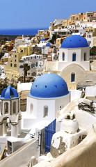 Oia Santorini sprit in Greece
