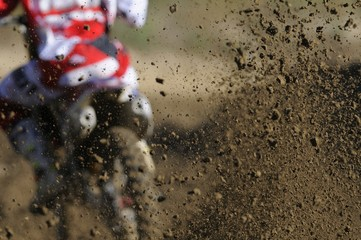 Motocross speed up