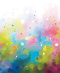 Vector abstract colorful lights background.
