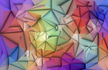 Vector Abstract 3D Geometric, Polygon ( polygonal ), Triangle pattern shape. Abstract mosaic background for your content, banner, template,network and web design