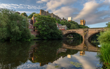 Durham Cathedral  River Wear England UK