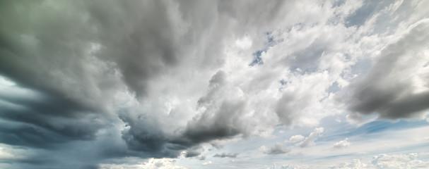 dark clouds in Sardinia