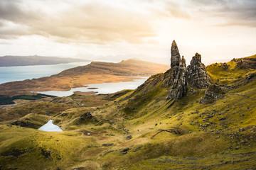 Old Man of Storr, Wyspa Skye, Szkocja