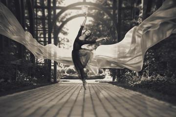 Ballerina on the streets