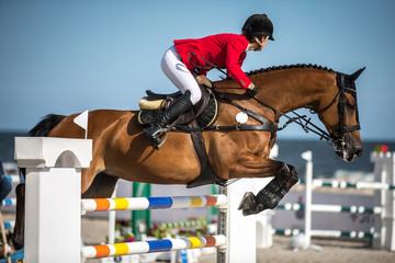Horse Jumping, Equestrian Events