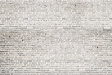 White wash brick wall texture. Background  for text or image.