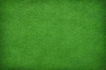 Streszczenie zielonym tle filcu