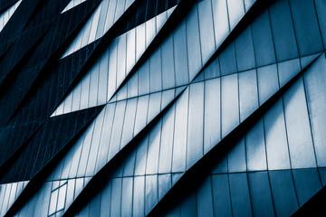 Zakończenie Nowożytni budynki biurowi, Szanghaj, Chiny.