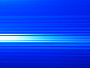 Horizontal blue motion blur background