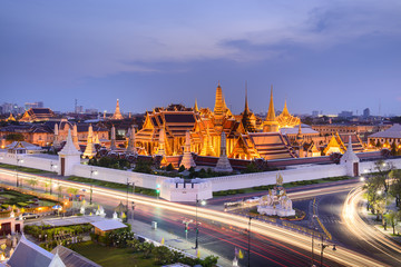 Temple of the Emerald Buddha; full official name Wat Phra Si Rattana Satsadaram