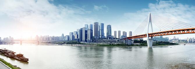 China 's Chongqing city skyline