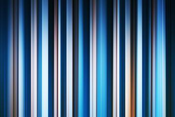 Vertical blue motion blur curtains background