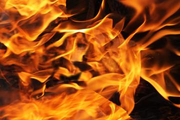 Gorące płomienie ogniska 2