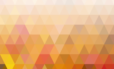 geometric yellow low poly background