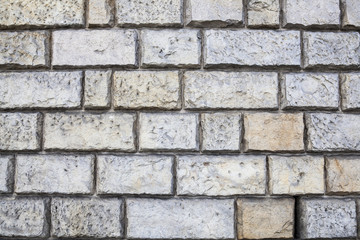 a wall of old bricks, brick background