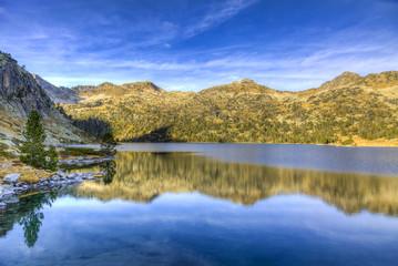 Lac d'Aubert in Neouvielle Massif
