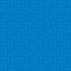 Neutral geometric seamless blue pattern