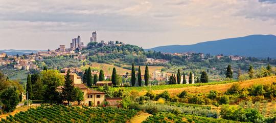 San Gimignano Stadt  Toskana