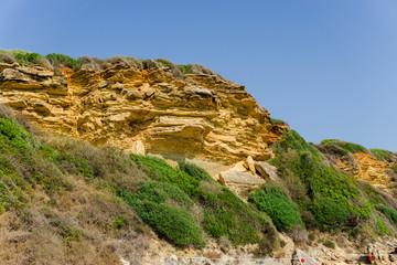 Amazing coastline of Zakynthos island