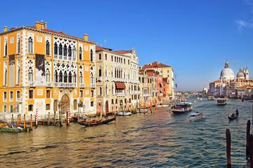 Grand Canal near the Bridge Academy, Venice