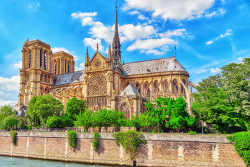 Katedra Notre Dame de Paris, najpiękniejsza katedra w Paryżu