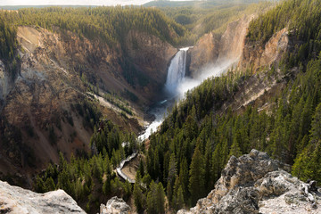Uroczysty jar Yellowstone park narodowy, usa