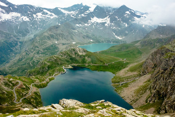 Colle del Nivolet. Laghi Alpini