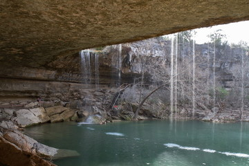 Hamilton pool, TX - USA