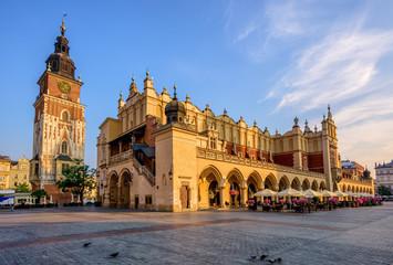 The Cloth Hall in Krakow Olt Town, Poland