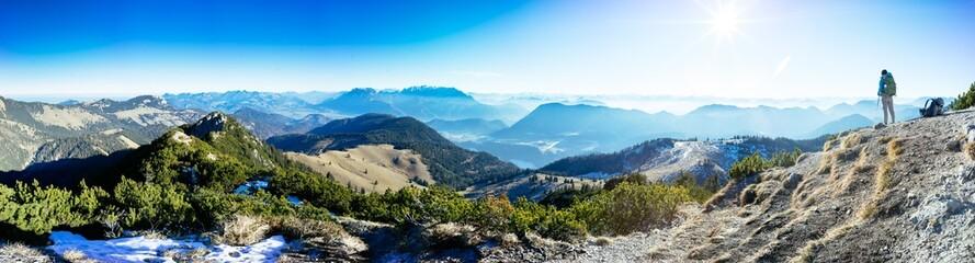 Mountain panorama Trainsjoch (2)