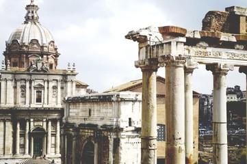 Roma, Italia, Ruínas