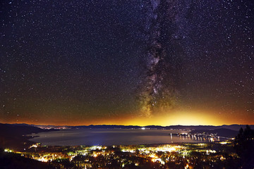 Lake Tahoe Milky Way from Incline Village