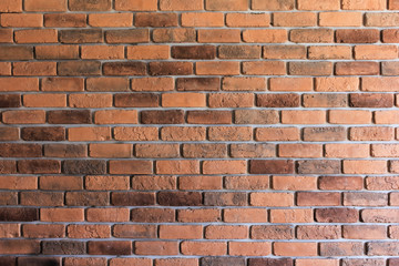Background of old vintage abstract brick wall