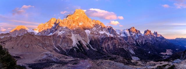 Trentino, Panorami dolomitici