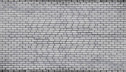 The texture of wall from a variety of old and dirty brick. Detailed pattern of a plurality of different sizes of brick white worn out