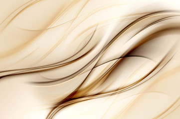 Brown Waves Background