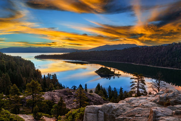 Emerald Bay, South Lake Tahoe, Kalifornia
