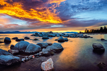 Zephyr Cove, South Lake Tahoe, Nevada