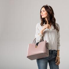 Fashion woman shopping