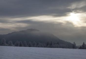 Winter am Faaker See