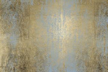 porysowana tekstura złotej folii