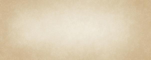 light brown paper background design with soft white center and grunge textured border, old vintage parchment background design