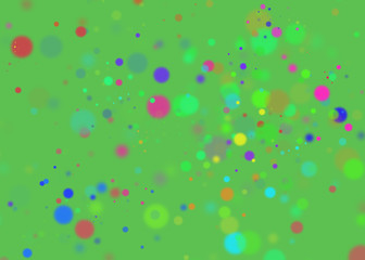 abstract colored light spots background blur