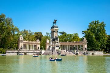 Park del Retiro in Madrid, Spain